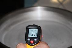 Температура поверхности, на которой готовится мороженое Fitbit