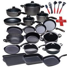 SWISS DIAMOND-27 PIECE COOKWARE SET Listing in the Frying Pans,Cookware,Kitchen, Dining & Bar,Home & Garden Category on eBid United States | 153974554