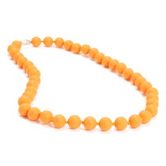 Chewbeads Jane Necklace » Creamsicle