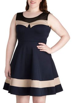 Harbor View Dress in Plus Size, #ModCloth