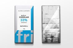 Self- initiated project, one day brand challenge! Lactose- & gluten free chocolate