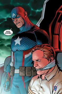 Marvel faz grande revelação sobre o Capitão América em nova revista! - Legião dos Heróis   Como assim? WTF??