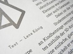 German Rang Magazine is using Nautinger« and unpublished weights of Edelsans«.