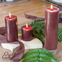 Brown Pillar Candles - It's that time of year that browns, oranges, deep golds, and yellows are part of home decor. Enjoy Brown Pillar candles in your decorating and achieve hours of burn time and a warm glow.