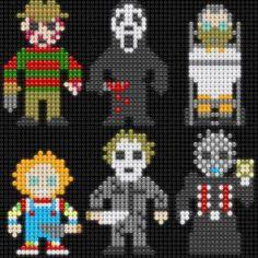 Horror Movie Icon Cross Stitch
