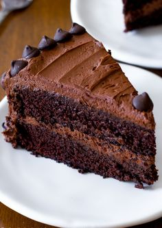 Get the Triple Chocolate Cake recipe from Sally's Baking Addiction Amazing Chocolate Cake Recipe, Best Chocolate Cake, Homemade Chocolate, Chocolate Flavors, Chocolate Recipes, Chocolate Buttercream, Buttercream Recipe, Melted Chocolate, Baking Chocolate