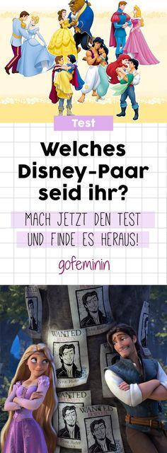 Mach den Test: Welches Disney-Paar wärt ihr?