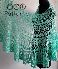 Crochet Shawl Diagram, Basic Crochet Stitches, Crochet Basics, Crochet Patterns, Doily Patterns, Dress Patterns, Crochet Shawls And Wraps, Crochet Scarves, Crochet Yarn
