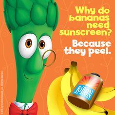 Apparently I am a banana.