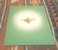 Vintage Aladdin's Wonderful Lamp Book Artcraft Saalfield color illustrated Nice   eBay