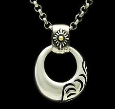 INDIAN SUN 925 STERLING SILVER PENDANT