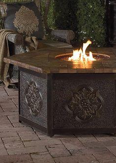Warm your outdoor conversation area!