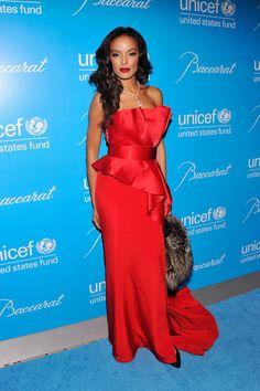 Selita Ebanks Evening Dress - Selita Ebanks Looks - StyleBistro