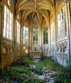 An Abandoned Church In France Pictures, Photos, and Images for Facebook, Tumblr, Pinterest, and Twitter