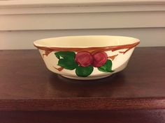 Franciscan Ware Apple Large Serving Bowl 8 7/8 by BetsyEtsyVintage