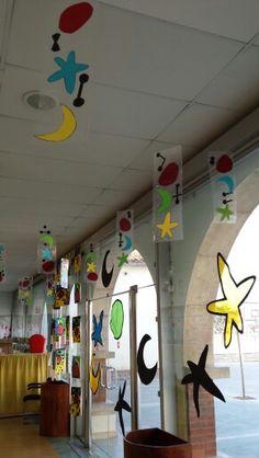 Joan Miró (pour la Grande Lessive dont le thème cette année est: transparents / pas transparents???)