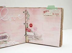 Valentine's Paper Bag Mini Album   Jaime Warren