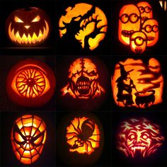 halloween designs for a pumpkin