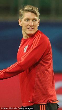 Bastian Schweinsteiger's experience will be crucial...