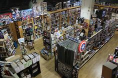 Always dreamed one day I own a Comic Book Store :-) <3