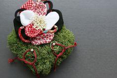 和の人前式だから和のリングピロー http://flower-danke.com