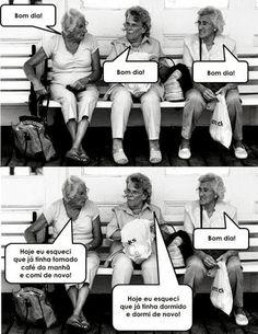 Humor quase negro...