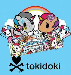 Tokidoki x Sweet Hollywood: Unicorno Bar (Milk Chocolate with Carbonated Candy) - Want!