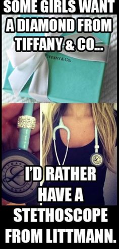 Tiffany blue stethoscope