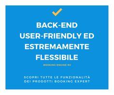 Un back-end di facile gestione semplifica di molto il lavoro! Scopri di più su https://goo.gl/FDHq8t Booking Expert - Booking Engine - Hotel - Booking Software
