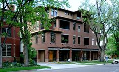 VFLA, Architecture, Interior Design, Old Town, Fort Collins, Co, Colorado, mixed use, lofts, multi-family, parking garage, urban design award