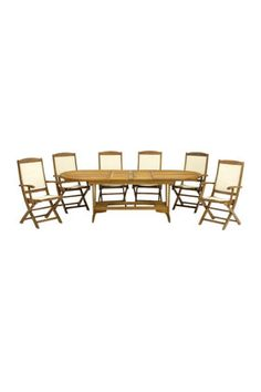Garden Furniture Edinburgh rio 6 seater wooden garden furniture set | new house | pinterest