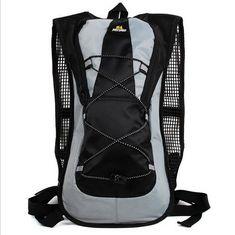5L Waterproof Nylon Solid Zipper Motorcycle Backpack Back Pack Gear Mochila Outdoor Camping Cycling Trekking Travelling #trekkinggear