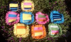 Annie Cottage-Joy U Give-Afghan-Bedding-Blanket-Throw-Handmade-Crochet-Stripe