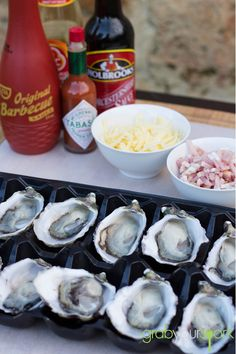 Check out this oysters kilpatrick recipe made with a combination Worcestershire sauce, kecap manis, tomato sauce, bbq sauce, bacon and cheese. Vietnamese Rice Paper Rolls, Oyster Recipes, Rice Vermicelli, Duck Sauce, Recipe Instructions, Retro Recipes, Hoisin Sauce, Fresh Herbs, Kitchens