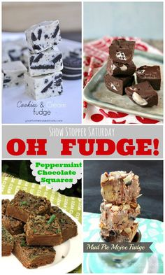Show Stopper Saturday Link Party Featuring Fudge Recipes!