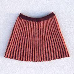 Rosalina-strikket nederdel