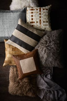 From a splash of color to a soft place to rest, decorative throw pillows serve many purposes in your home. Get the most out of the plush accessories by layering them in ways both pleasing to the eye and comfortable.