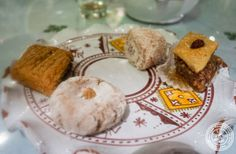 image of desserts at Le Marrakech, Moroccan restaurant in Grenoble, France