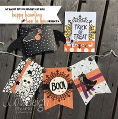 Loveleigh Stampin' Stampin' Up! 2015 Holiday Catalog Sneak Peek • Happy Haunting & Boo to You Products