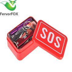 Equipo Kit de Coche de Emergencia Terremoto Suministros SOS SOS de emergencia Herramienta de Supervivencia Acampar Al Aire Libre Equipo de Supervivencia