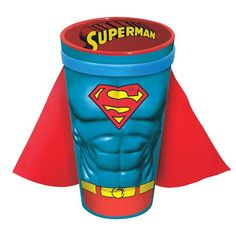 Superman Molded Caped 16 oz. Pint Glass $11.99
