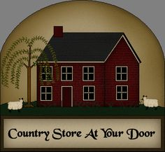 Primitive and Country Crafts By Country Store at your Door