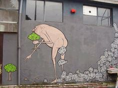 Street Art by NemOs in Milan, Italy