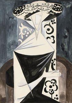 Natalia Goncharova (Arkhangelsk Village, Tula Region, Russia 1881~1962 Paris, France)   The member Of Der Blaue Reiter