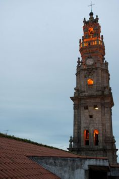 Torre (tower) dos Clérigos ~ Porto One of the most photographed places on Sightsmap Porto Portugal, Douro, Cities, Beautiful Beaches, Big Ben, Spain, Tower, Terra, World