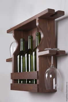 Buy Wine shelf & No. Burgundy Source by felixdildey The post Handmade furniture. Fair Masters & Hand & appeared first on Wooden Product Seller. Woodworking Projects Diy, Diy Wood Projects, Wood Crafts, Handmade Furniture, Diy Furniture, Wine Rack Design, Wine Stand, Rustic Wine Racks, Pallet Wine
