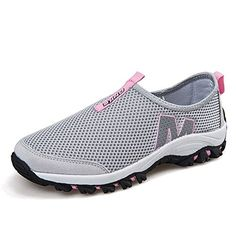 2f430387a2c20 KENT HILL Men Women Breathable Mesh Vamp Casual Shoes Couple Running  Sneaker     Check