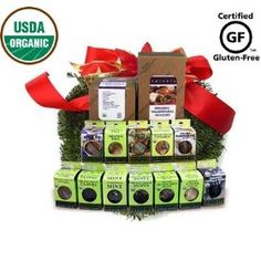 Spicely Organic Spices Gift Set Traditional Holiday 12-box Sampler ............ Low Rate Shipping $39.85