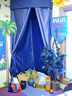 corner tent for Paul's Adventures