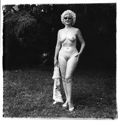 Diane Arbus was an American photographer & writer noted for photographs of marginalized people—dwarfs, giants, transgender people, nudists, circus performers & others whose normality was perceived by the general populace as ugly or surreal. Wikipedia
